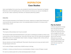 SPEAK UP: The Ultimate Guide to Speaking & Presenting
