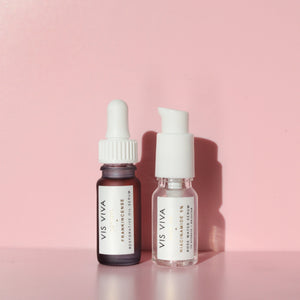 Restorative Oil Serum <br>+<br> Rose Water Serum <br><br> Deluxe Mini Set - Vis Viva Skincare