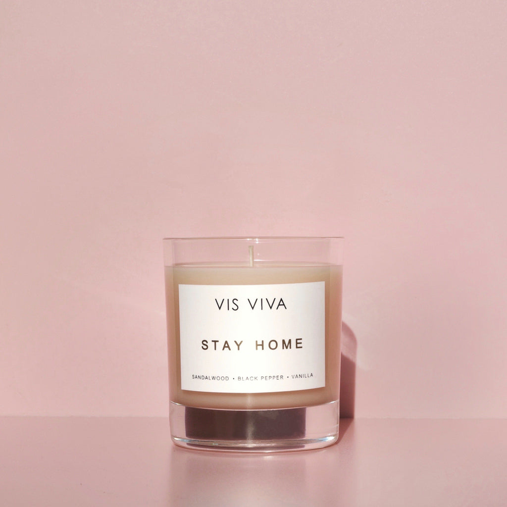 Stay Home Candle 200g Vis Viva Skincare