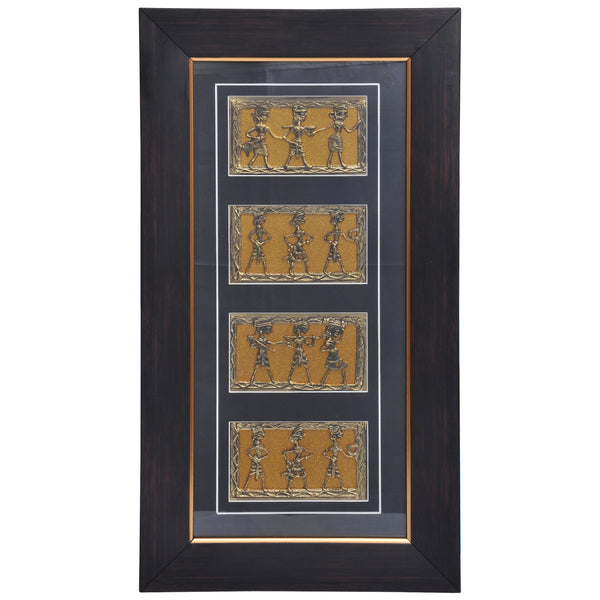 Decorative Tribal Dance art DWH7