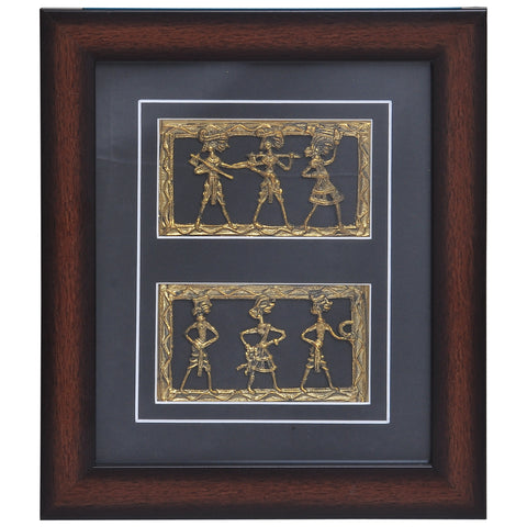 Decorative Dhokra Tribal art Wall Hangings DWH2