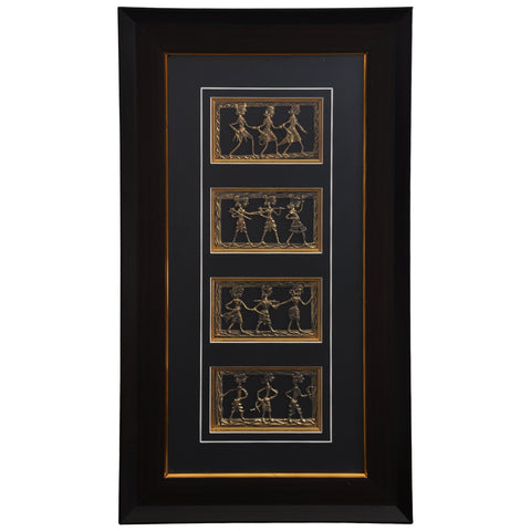 Decorative tribal dance art DWH6
