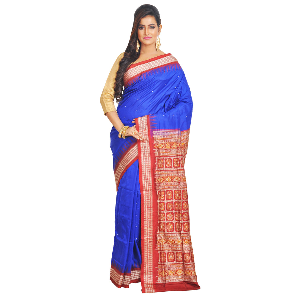 Bomkai Silk Saree S55