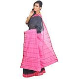 Sambalpuri Black and Print Saree S59