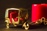 Minature steel rickshaw. CL29