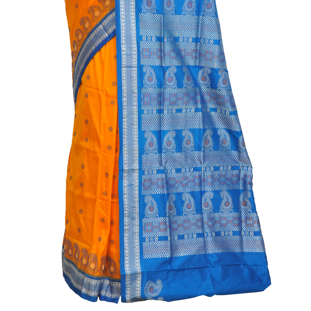 Wedding wear sambalpuri silk saree S9