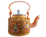 Hand painted kettle K13