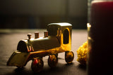 Miniature steel train engine CL30