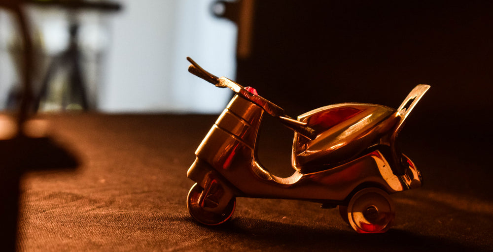 Miniature steel scooter CL34