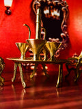 Miniature royal cups and kettle. CL36