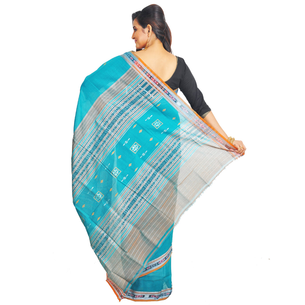 Sambalpuri Cotton Saree S65