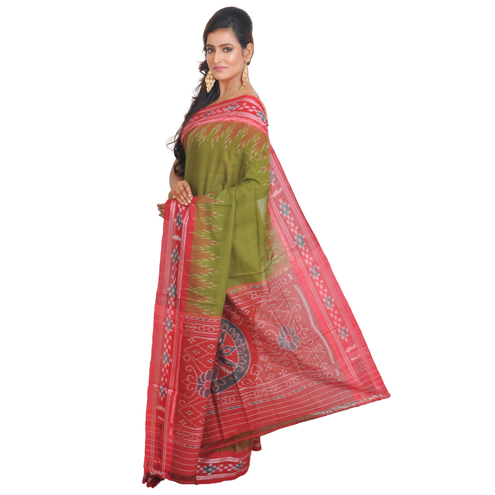 Sambalpuri Cotton Saree S49