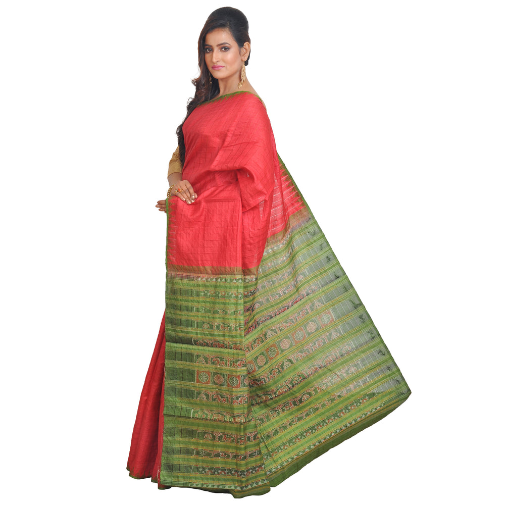 TUSSAR SILK SAREE S34