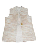 Handloom trendy ikat jackets.Women's Jacket 21