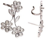 Silver Filigree Ear Ring ER6