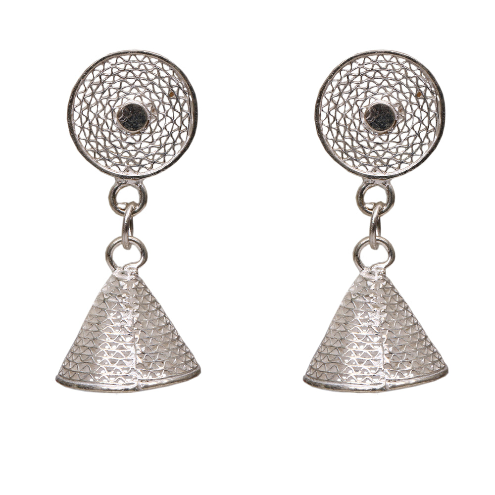 Silver filigree Ear Ring ER8