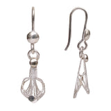 Silver Filigree Ear Ring ER11