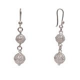 Silver Filigree Ear Ring ER17