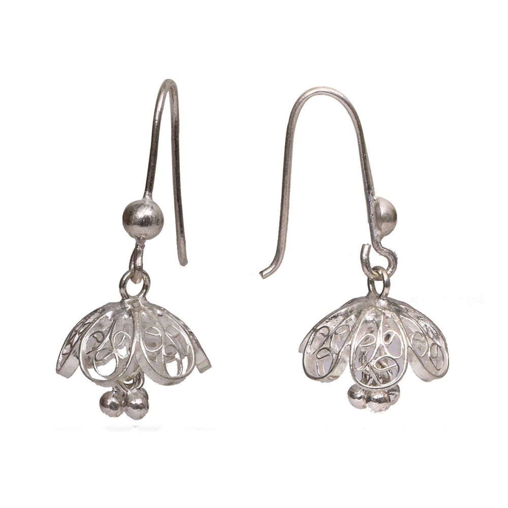 Silver Filigree Ear Ring ER18