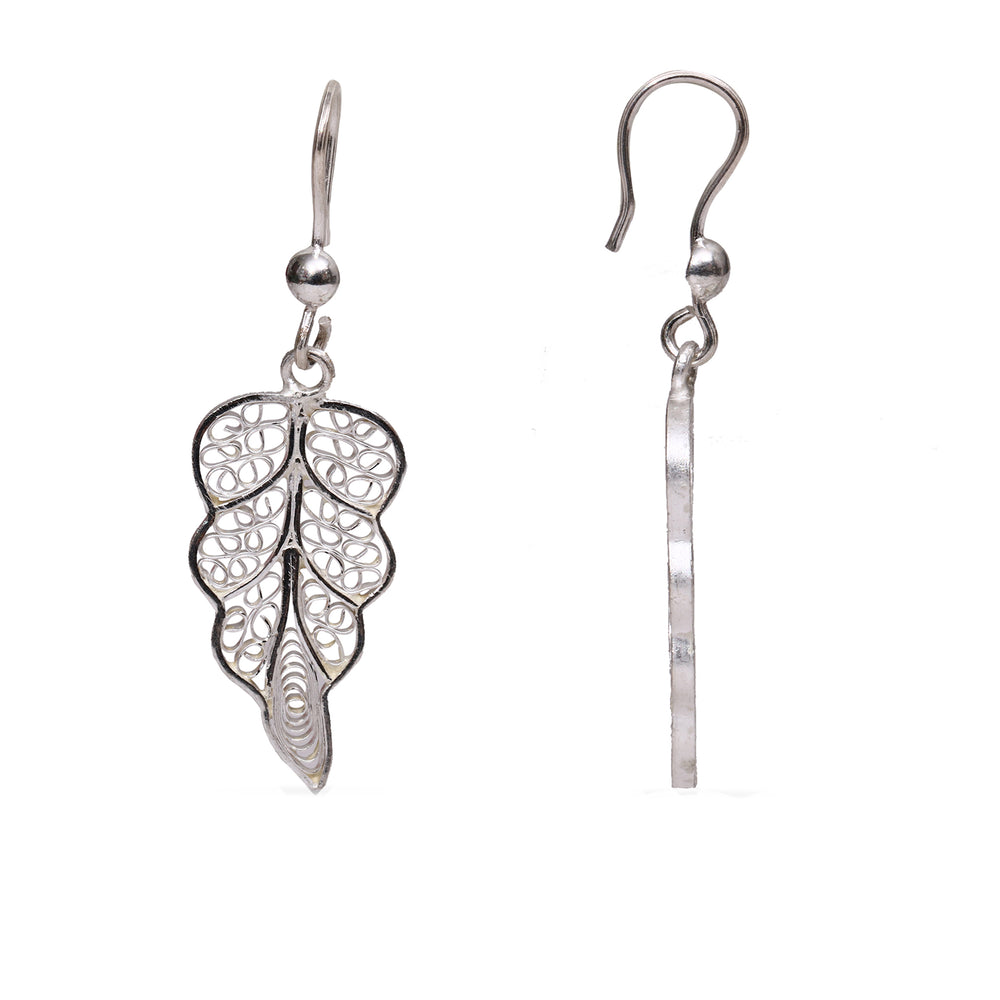 Silver Filigree Ear Ring ER19