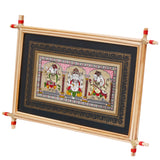 Lemon grass Frame of Lord Vinayak Picture for Wall hangings WD2