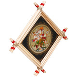 Lemon grass frame of Lord vinayak on palmleaf for Wall hangings WD12
