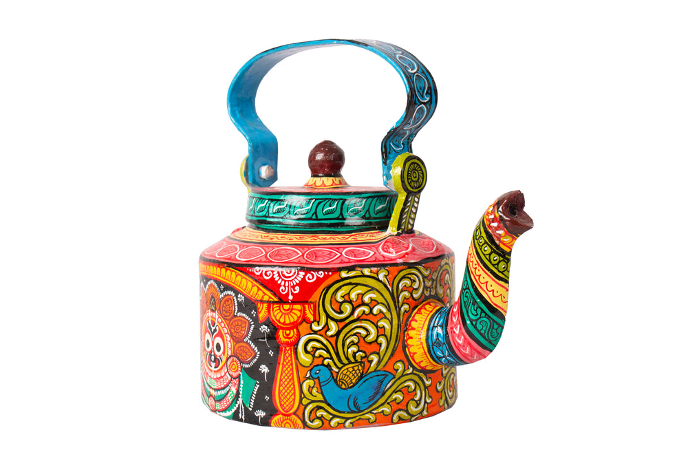 Hand painted kettle K5