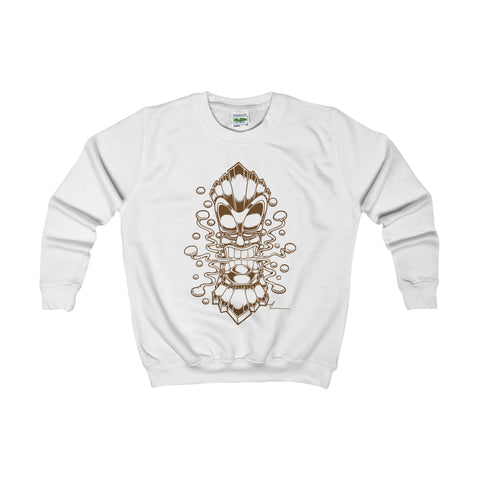 """Tiki God"" Kids Sweatshirt"