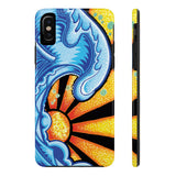 "Alex Lanau ""Great Wave"" Case Mate Tough Phone Cases"