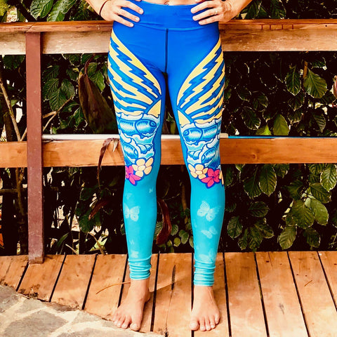 """Butterfly"" Yoga Leggings"
