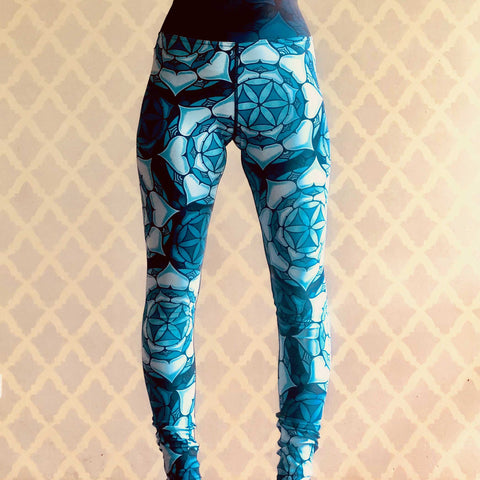 """Mandala"" Yoga Leggings"
