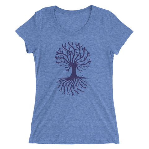 """Tree of Life"" Ladies' Short Sleeve Tee"