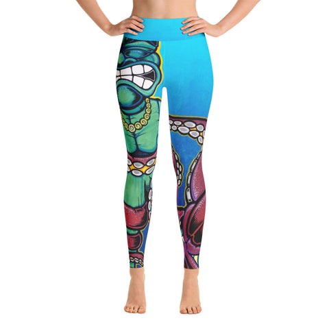 """EastWest"" Yoga Leggings"