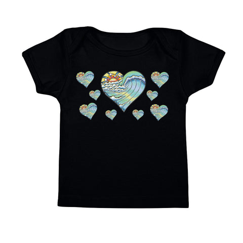 """Heart Wave"" Infant Tee"