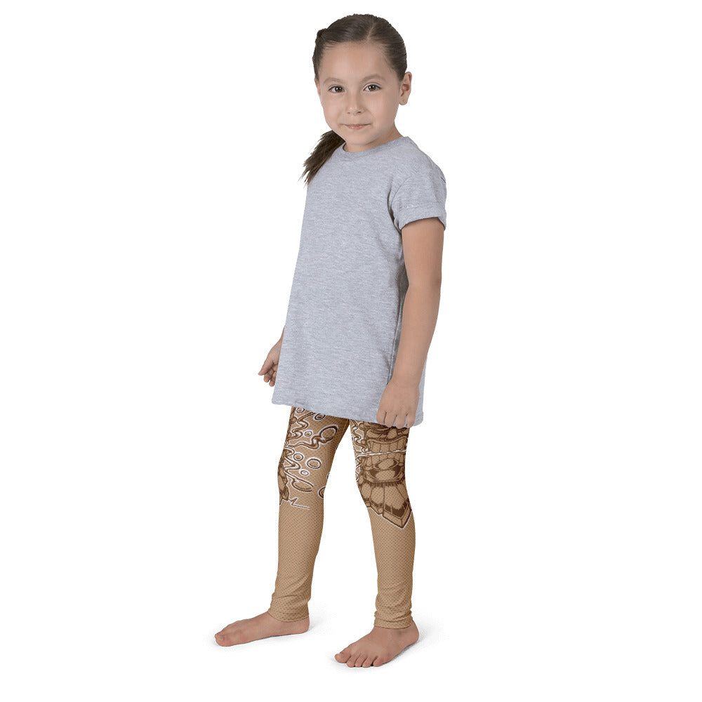 "Alex Lanau ""Tiki God"" Kid's leggings"