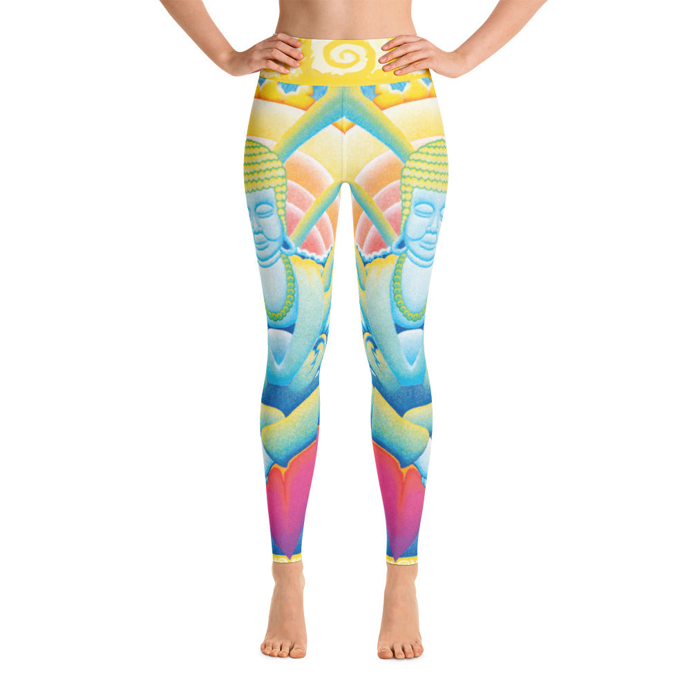 "Alex Lanau ""Activation"" Yoga Leggings"