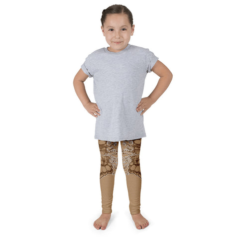 """Tiki God"" Kid's leggings"