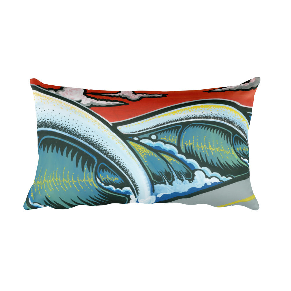 "Alex Lanau ""The Hook"" Rectangular Pillow"