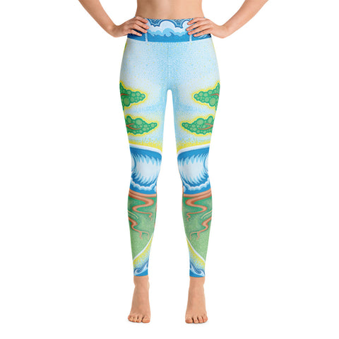 """Tree Of Love"" Yoga Leggings"