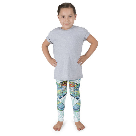 """Heart Wave"" Kid's Leggings"