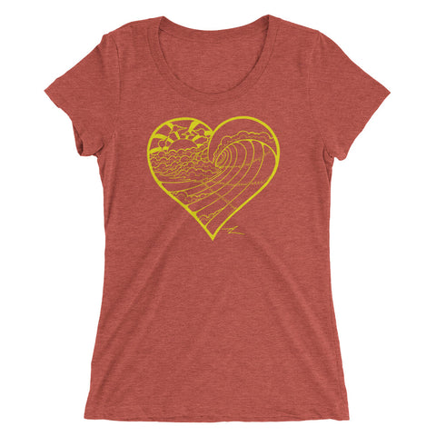 """HeartWave"" Ladies' Short Sleeve Tee"