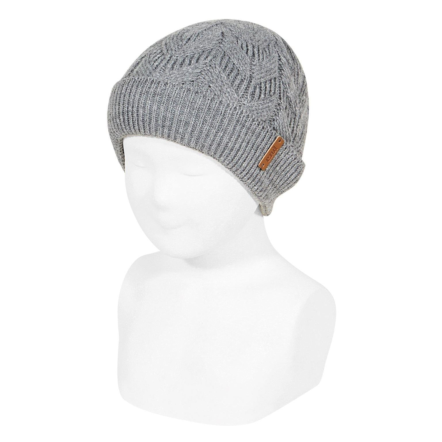Condor muts 230 light grey - Petit Bébé