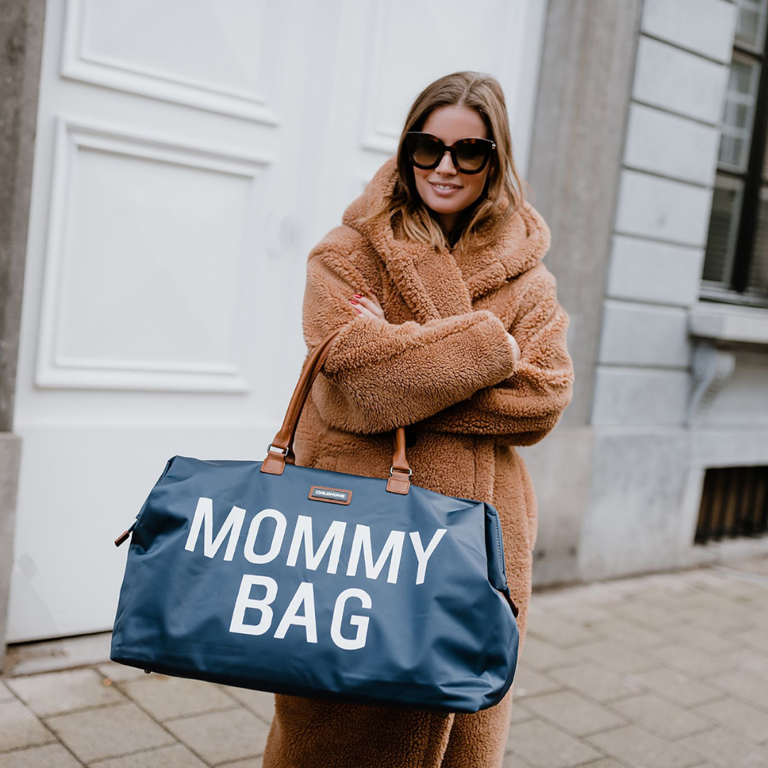 Childhome - Mommy Bag Verzorgingstas - Navy Wit