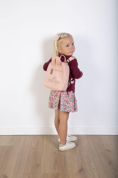 Childhome - My First Bag Kinderrugzak - Roze Koper - Petit Bébé
