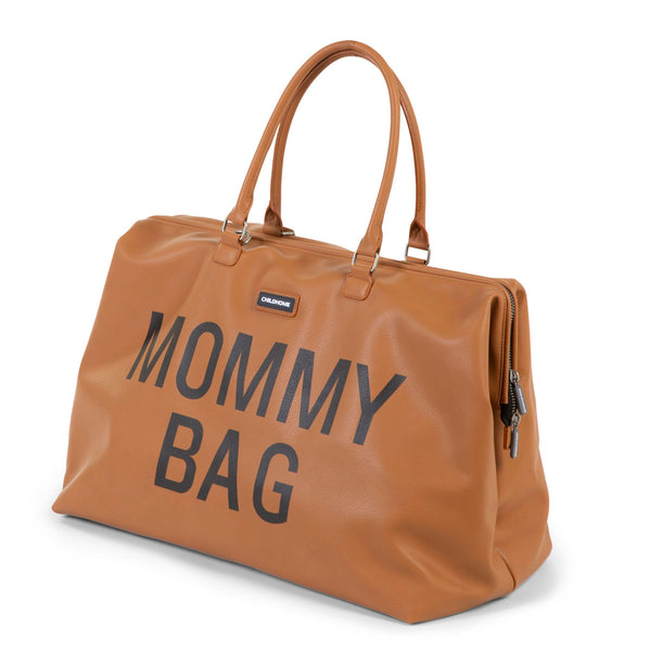 Childhome - Mommy Bag Verzorgingstas - Lederlook Bruin - Petit Bébé