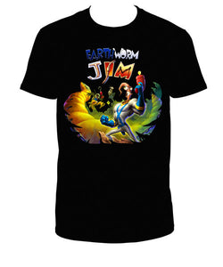 Earthworm Jim t-shirt