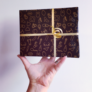 """Oooh La La"" Sexy Wrapping Paper"