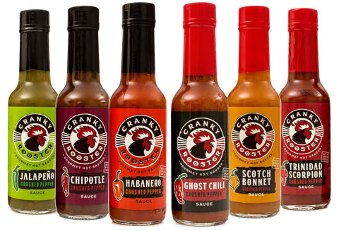 FULL HOT SAUCE SET: 6 Flavors