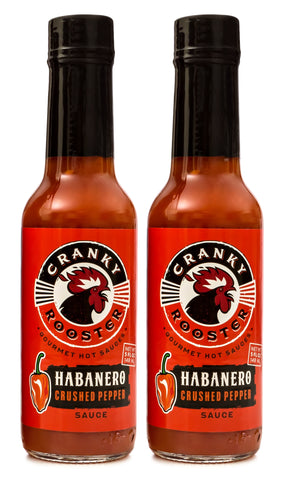 SINGLE FLAVOR (9) BOTTLES: HABANERO HOT SAUCE