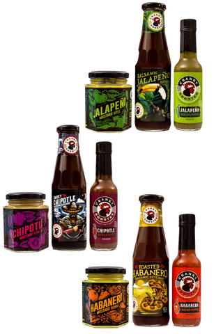 BUNDLE 2: CHILI SET: JALAPENO/ CHIPOTLE/ HABANERO